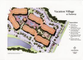 Vacation Village at Parkway - Resort Map