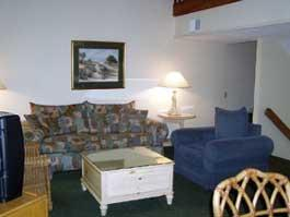 Spicebush at Sea Pines - Unit Living Area