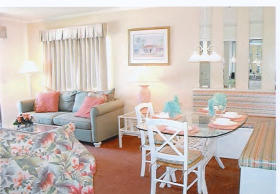 Ocean Forest Colony - Unit Living & Dining Areas