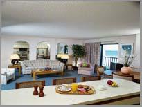 Fantasy Island Resort - Unit Living Area