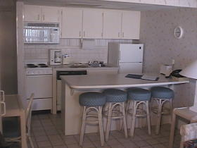 Sand and Surf Condominium - Kitchen