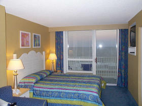 Villas at the Boardwalk - Unit Bedroom