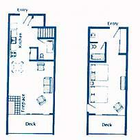 The Inn at Otter Crest - Unit Floor Plan