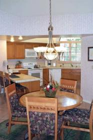 Lawrence Welk Resort Villas - Unit Dining Area