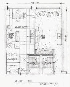Hollywood Beach Tower - Unit Floor Plan