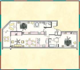 The Reef Resort - Unit Floor Plan