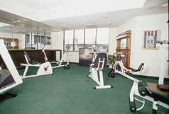 Fitness Center at the Plaza Resort Club