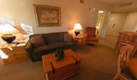 Carriage Hills Resort - Unit Living Area