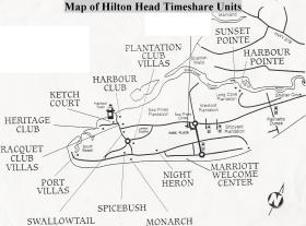 Spicebush at Sea Pines - Hilton Head Map