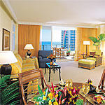Hilton Grand Vacation Club at Hilton Hawaiian Village - Unit Living Area