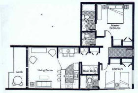 Sea Crest Surf and Racquet Club - Floorplan