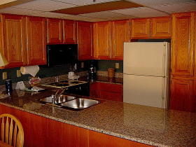 Park Plaza - Unit Kitchen