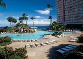 Ka'anapali Beach Club - 1-acre pool with 24 ft slide, & several Jacuzzi