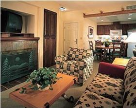 Lake Tahoe Vacation Resort - unit living area