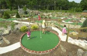 Ridge Top Village and Ridge Top Summit at Shawnee Resort - Miniature Golf