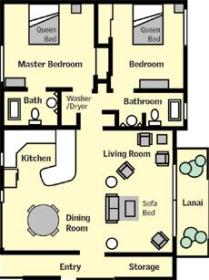 Sweetwater at Kauai - Unit Floor Plan