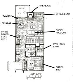 Jackson Hole Racquet Club - floor plan