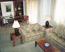 Massanutten's Mountainside Villas - living room