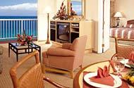 Ka'anapali Beach Club - unit living areas