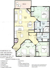 Wyndham Branson - Unit Floor Plan