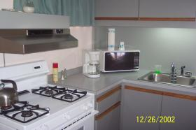 La Quinta Beach Resort - Unit Kitchen