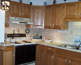 Christmas Mountain Resort - Unit Kitchen