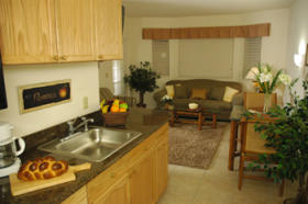 Silver Lake Resort - Unit Kitchen