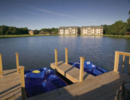 Wyndham Tamarack   - Resort Paddle Boats
