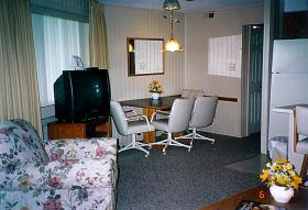 Outer Banks Beach Club - Unit Living Area