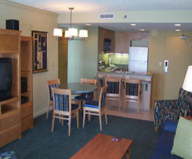 Daytona Beach Regency - Unit Dining Area