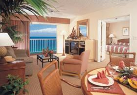 Ka'anapali Beach Club - unit living area