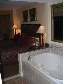 HGVC on the Las Vegas Strip - Unit Jacuzzi Tub