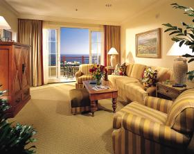 Marriott's Newport Coast Villas - Unit Living Area