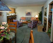 Riviera Oaks Resort - Unit Living Area