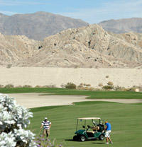 Indio area golf