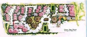 Resort Layout of Ocean Gate Resort
