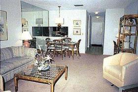 Townhouses at St. Augustine Beach and Tennis Resort - Unit Living Area
