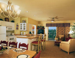 Wyndham Branson - Unit Dining Area