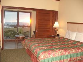 Unit Master Bedroom & Enclosed Lanai