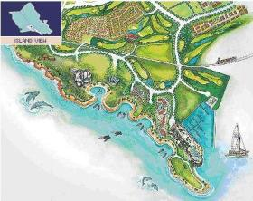 Map of the Ko Olina area