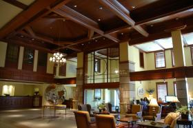 Main Lobby, in Compass Tower