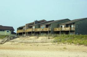 Barrier Island's Ocean Pines Beach
