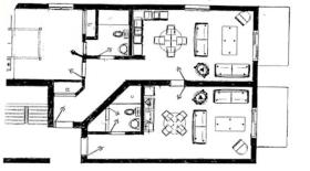 La Voliere du Mont-Tremblant - Unit Floor Plan