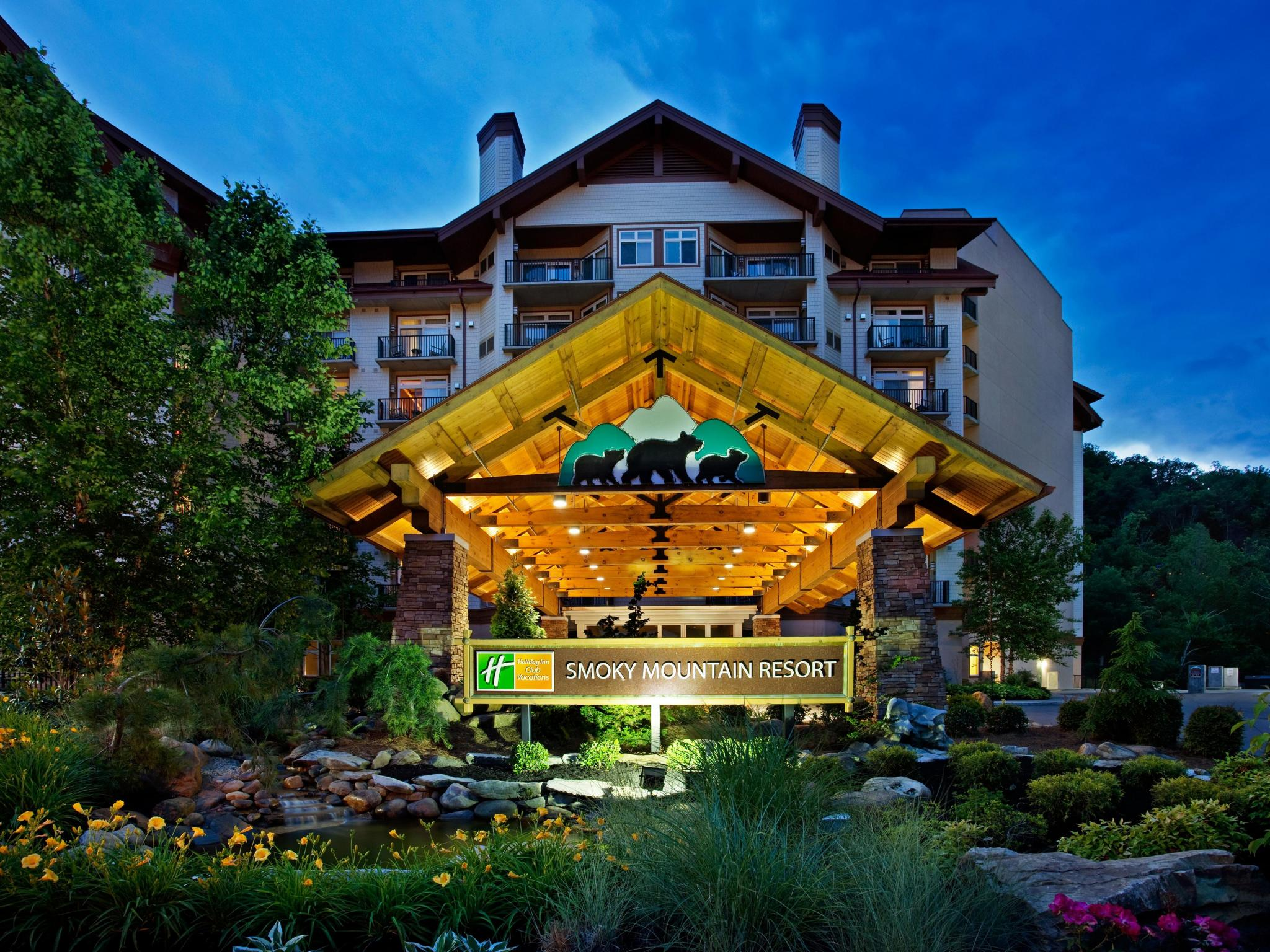 holiday inn club vacations at smoky mountain resort | redweek